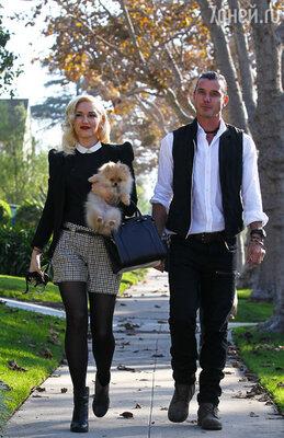 Гвен Стефани с мужем