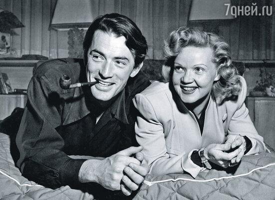Грегори Пек не раз говорил Консуэлите о проблемах с женой Гретой (на фото) и о том, что хочет с ней развестись