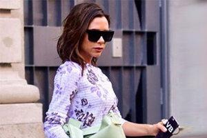 Фотогалерея. 7 образов Виктории Бекхэм на Неделе моды в Нью-Йорке