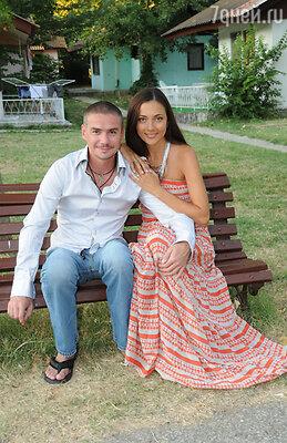 Дения Никифоров с женой Ириной