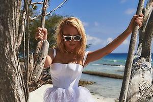 Образ дня: Яна Рудковская в Dior