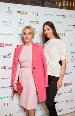 Алиса Крылова и Елизавета Голованова