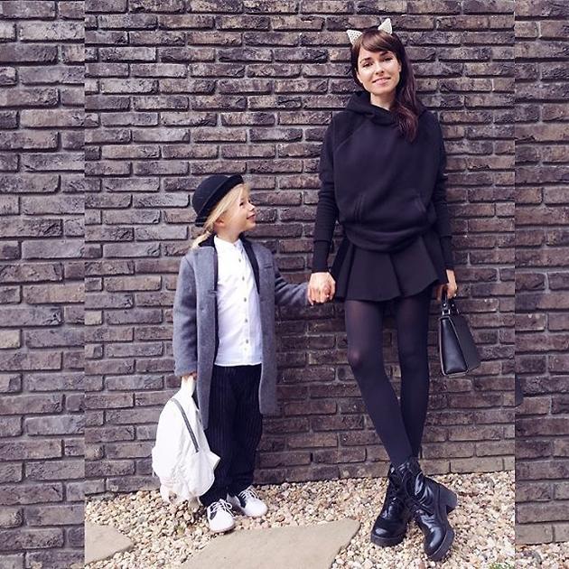 Ирена Понарошку с сыном Серафимом