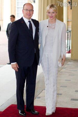 Князь Альбер II и княгиня Монако Шарлен