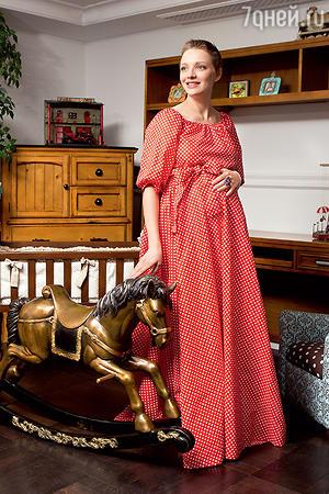 Екатерина Вилкова беременна