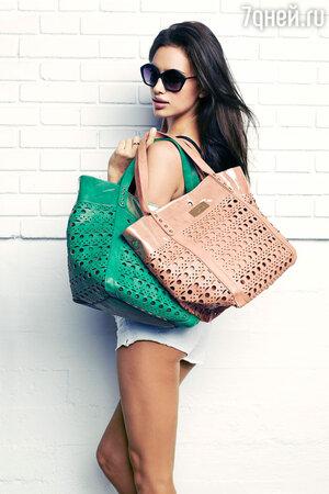 Ирина Шейк   в рекламной кампании  бренда XTI