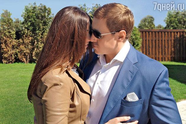 Оксана Федорова с мужем Андреем Бородиным