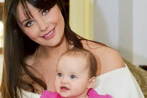 Оксана Федорова окрестила дочь Елизавету