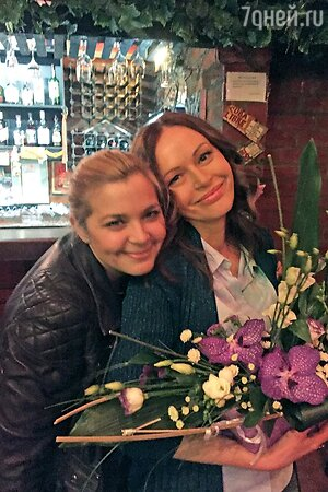 Ирина Безрукова и Ирина Пегова