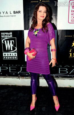 На вечеринке по случаю трехлетия модного телеканала. 2009 г.