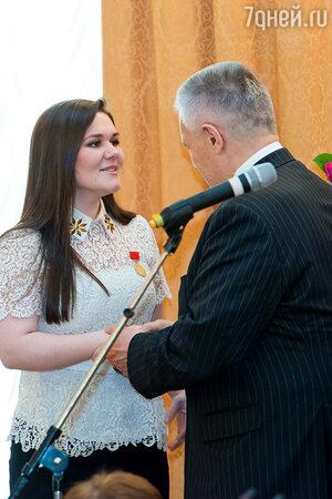 Дине Гариповой присвоили премию Российской Муниципальной Академии