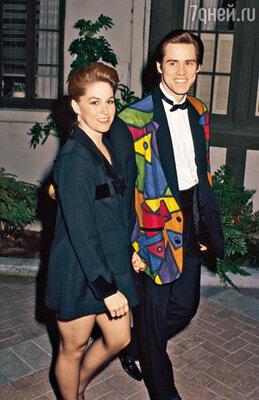 С первой женой Меллисой Уомер