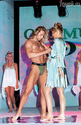 Если бы не стриптиз, Сергей мог бы сделать головокружительную карьеру в модельном бизнесе