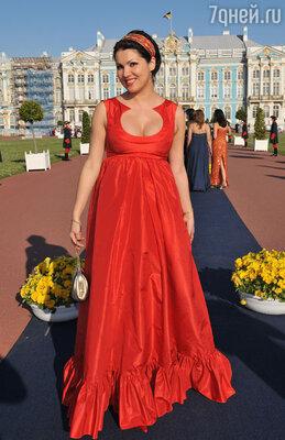 Анна Нетребко в Пушкине