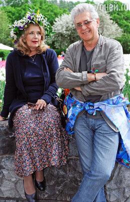 Ирина Алферова с мужем Сергеем