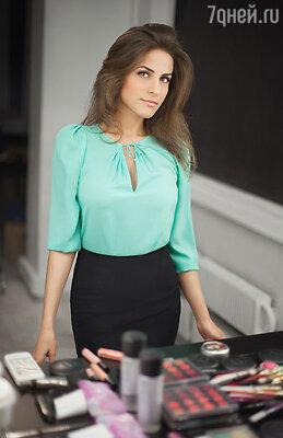 Лаура Арабова - визажист, в списке клиентов которой есть как российские, так и западные персоны