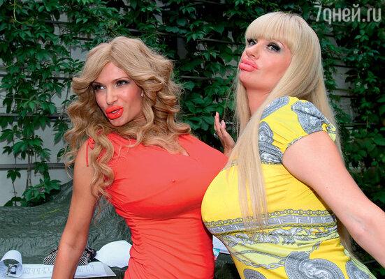 Настоящими символами российского антигламура стали персонажи Эвелины Бледанс и Анны Ардовой в телевизионном скетч-шоу «Одна за всех»