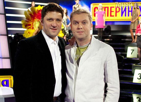 Виктор Логинов и Сергей Светлаков