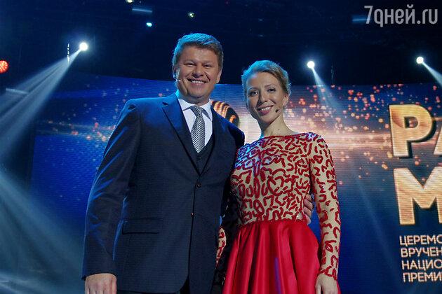 Дмитрий Губерниев и Яна Чурикова