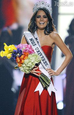 Обладательницей короны первой красавицы мира стала 22-летняя представительница Мексики Химене Наваррете