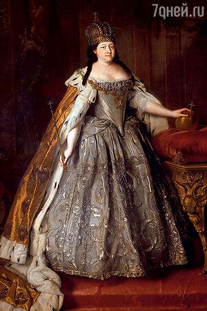 Фото репродукции портрета Анны Иоанновны