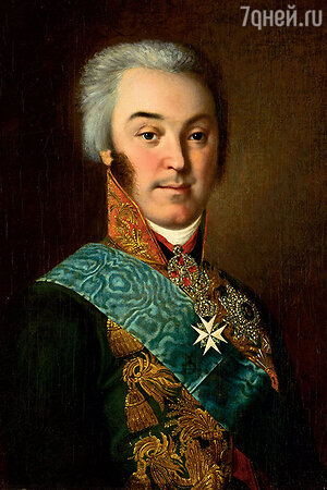 Фото репродукции портрета графа Р.П. Шереметева работы Н. Аргунова, 1800-е гг. / Государственный Эрмитаж.