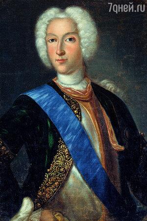 Фото репродукции портрета царя Петра II работы И. Ведекинда, 1730-е гг.  / Самарский художественный музей.