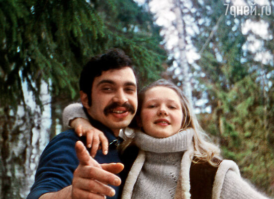 Мама с моим отцом  Виталием Мелик-Карамовым
