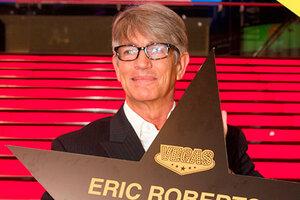 Эрик Робертс очаровал публику во время своего визита в Москву