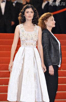 Одри Тоту представляла последнюю работу известного режиссера Клода Миллера «Тереза Дескейру»