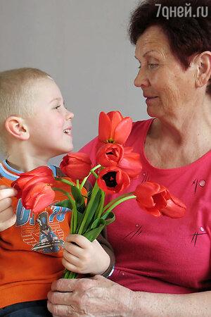 Праздник бабушек во Франции oтмечается в первое воскресенье марта