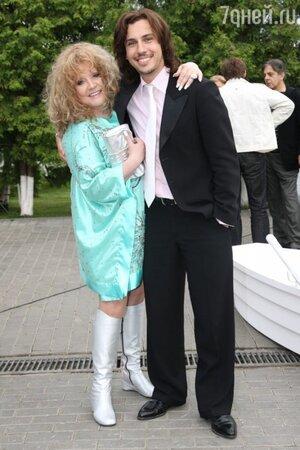 Алла Пугачева с Максимом Галкиным, 2008 год