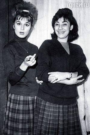 Элеонора Прохницкая с Нани Брегвадзе