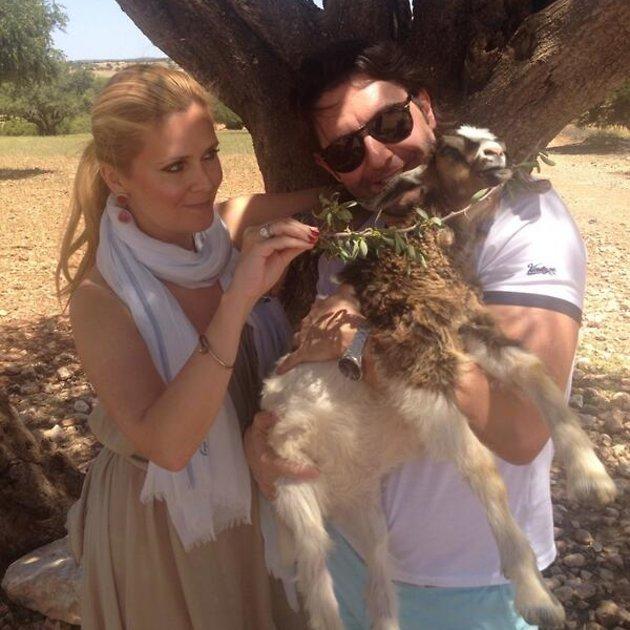 Андрей Малахов отправился в компании своей супруги Натальи Шкулевой в Марокко