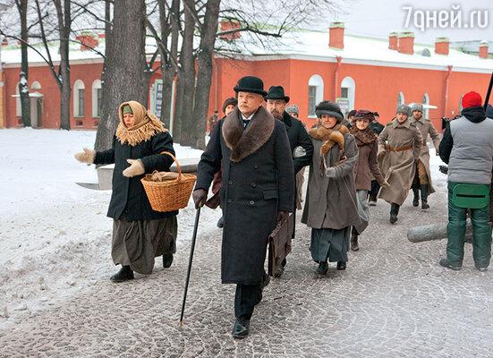 Андрей Смоляков (следователь Свиттен) в Петропавловской крепости
