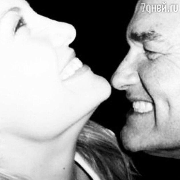 Кейт Хадсон с отцом