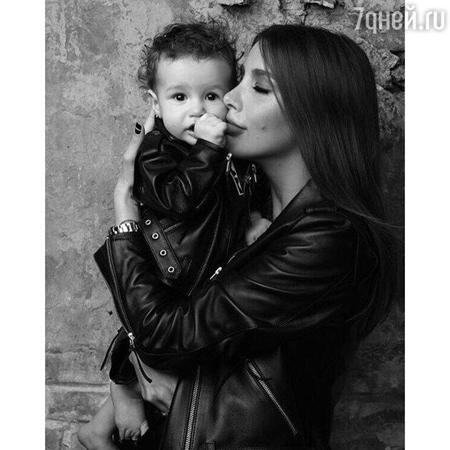 Кети Топурия с дочкой Оливия