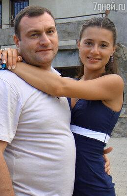 Яна Лапутина с супругом Отари Гогиберидзе