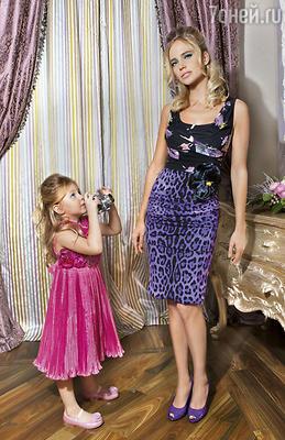 Наталья Ионова с дочерью Лидией