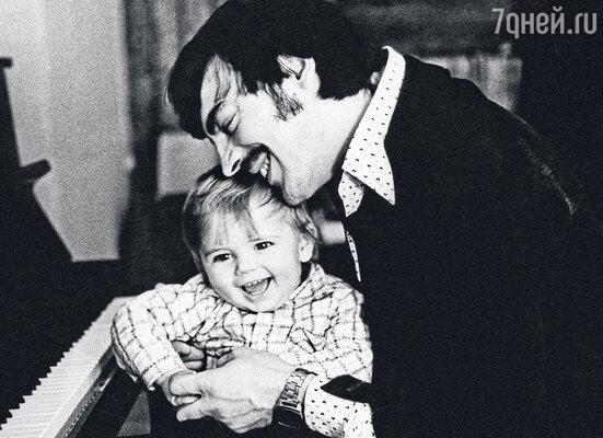 С сыном Сережей