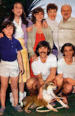 Лолита прожила с Хулио Сезаром Каччей 42 года и родила ему четверых детей