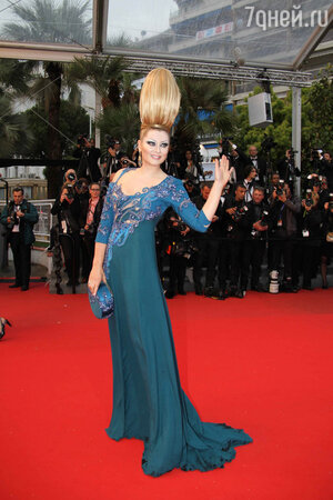 Лена Ленина на Каннском кинофестивале на 2013 году