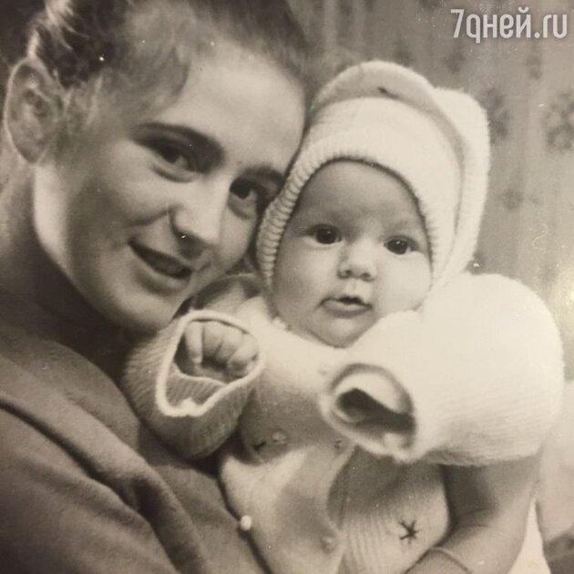 Юлия Барановская с мамой
