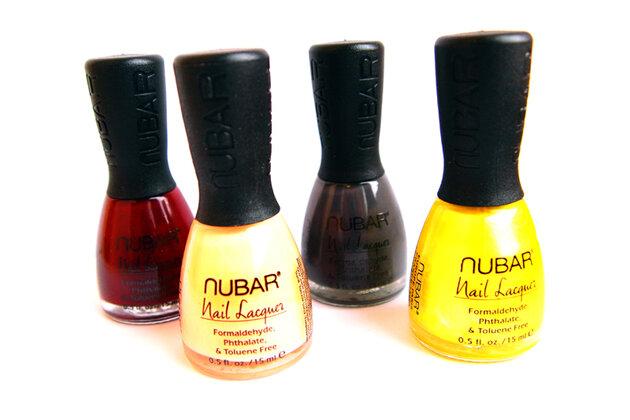 Лаки для ногтей от Nubar