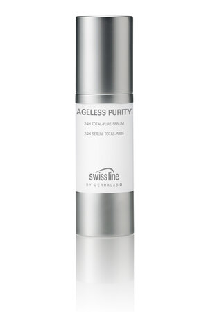 ������������������� �������������� ��������� ��� ���� � ���� 24H Total Pure Serum ����� Ageless Purity �� Swiss line