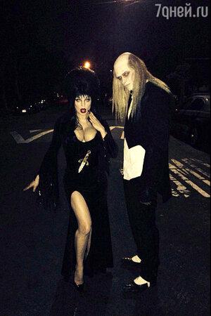 Ферги и Джош Дюамель в образе вампиров