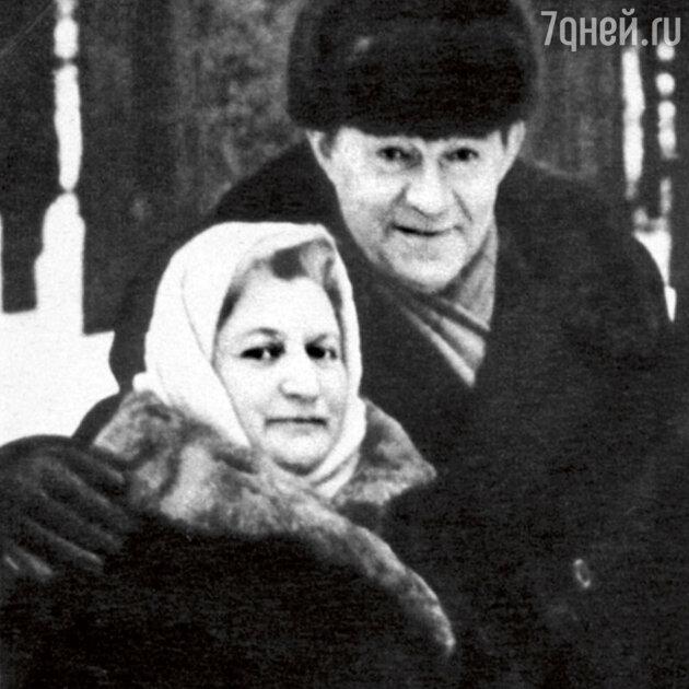 Леонид Осипович и Елена Осиповна прожили вместе почти полвека. Конец 50-х гг.