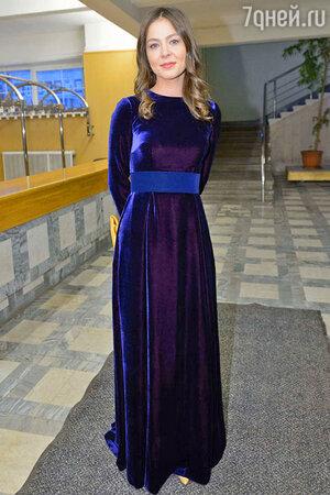 Елена Лядова на вручении премии «Золотой орел»