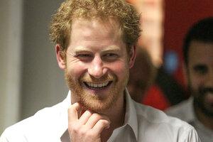 Принц Гарри  встретил, наконец, свою принцессу