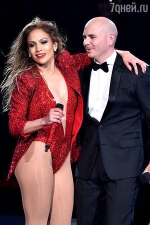 Дженнифер Лопес и рэпер Pitbull